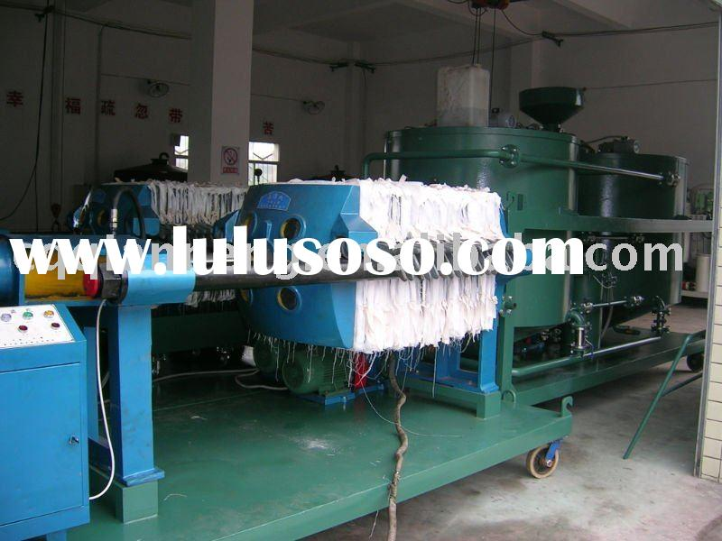 Waste/Used Black Engine Oil Recycling Plant