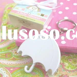 "Wedding gift of ""A Baby Shower"" Umbrella Tape Measure favor"