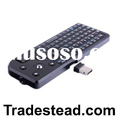 Wireless Bluetooth Qwerty Full-functional Mini Keyboard with Mouse Tracking Ball