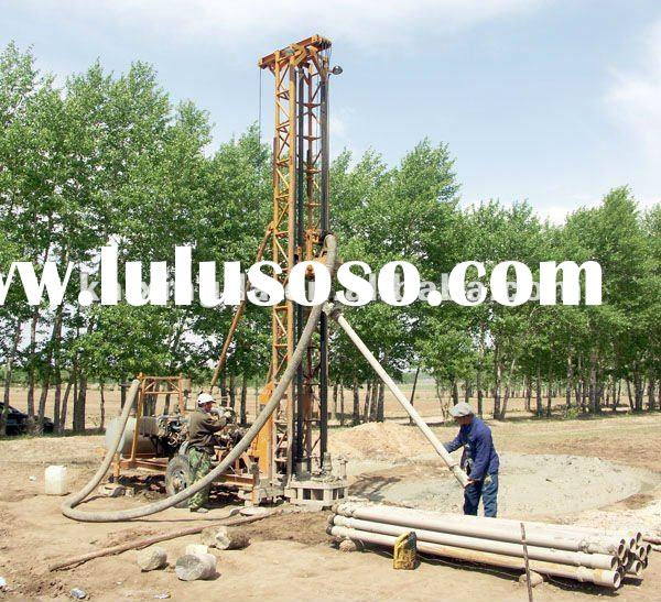(Drilling Depth150m )KXD-II mobile water well drilling machine & drilling rigs