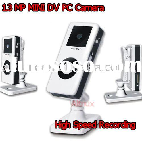 [New] Mini DVR DV PC Camera DVR 1.3MP 360 Degrees turning Portable RF71