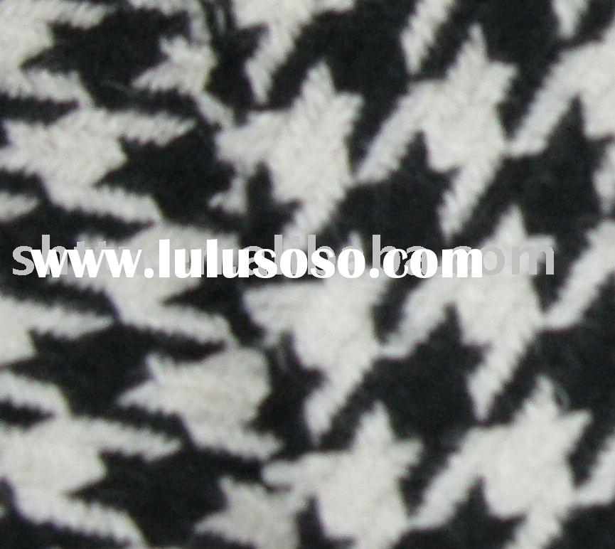 [STOCK ITEMS]woven fabric/wool fabric/houndstooth fabric W43-10195