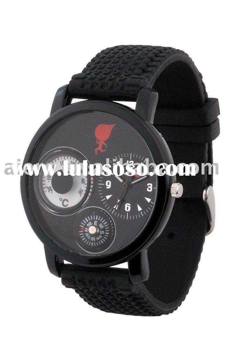 Compass Watch Strap Compass Watch With pu Band And