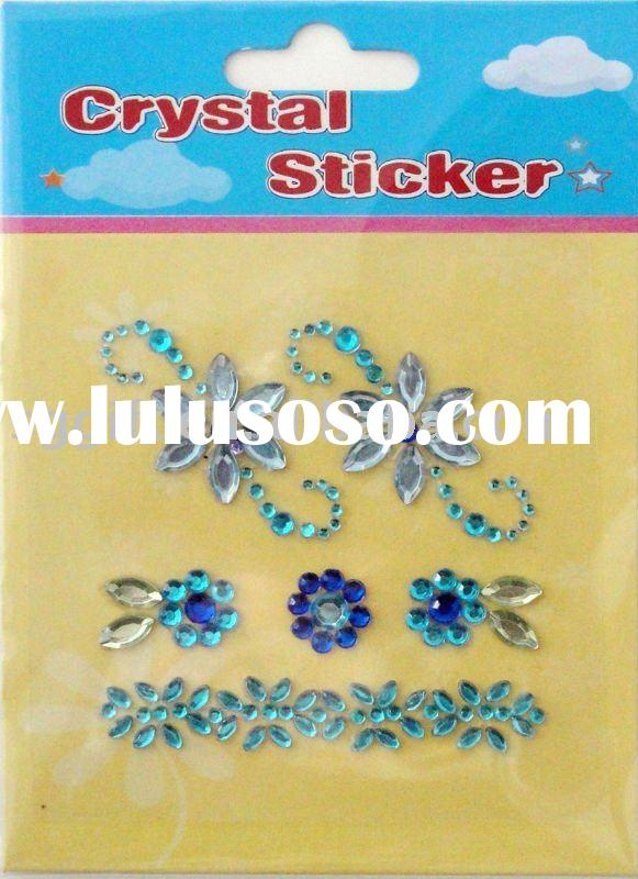 crystal sticker for iphone 4 home button