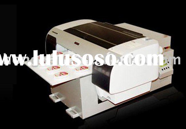 flatbed printer for garment,glass,wood,metal with textile pigment ink white ink and eco solvent ink