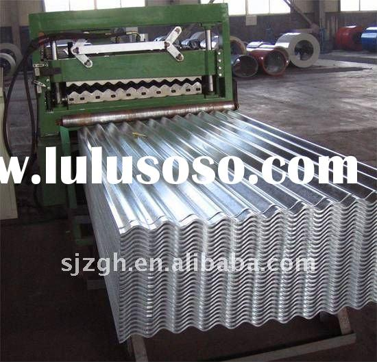 galvanized steel roof