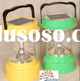 granite gardening lantern,solar post light,rechargeable led lattern