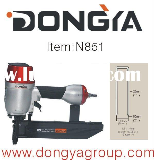 heavy duty 16Ga 1/2 inch crown staple machine