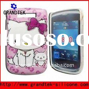 hello kitty case for Blackberry series 9900/9800/9700
