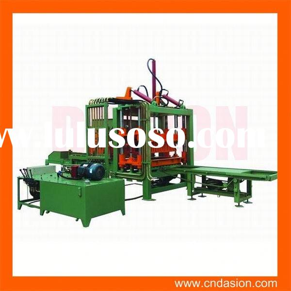 hot selling hand operated concrete block making machine