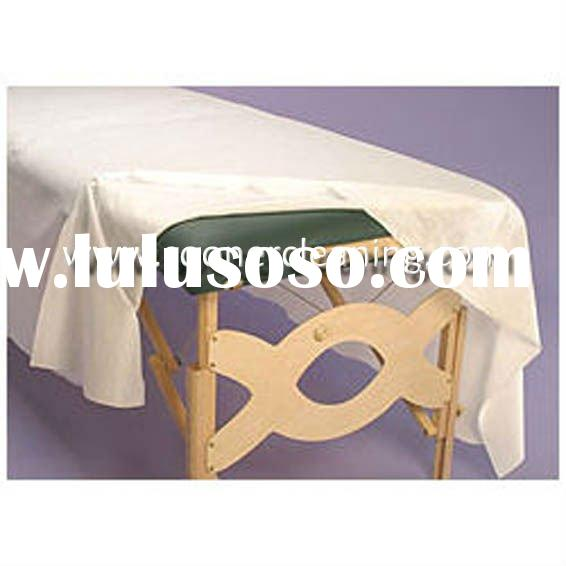 hygienic beauty salon used bed sheet