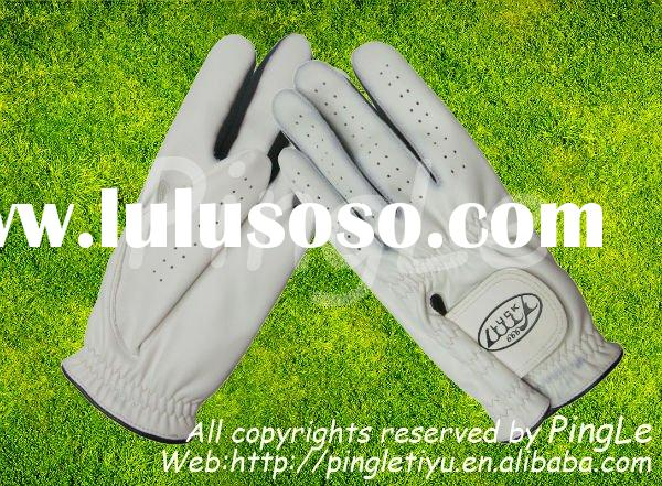 leather golf gloves/sports gloves