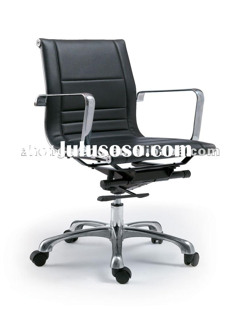 low back iron base office chair model 201B