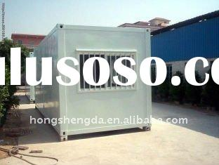 low foundation cost prefabricated steel frame porbable house/container house/modular homes