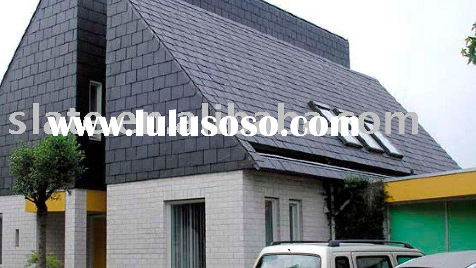 natural slate roof tiles with cleft surface
