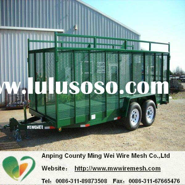 pve coated trailer mesh