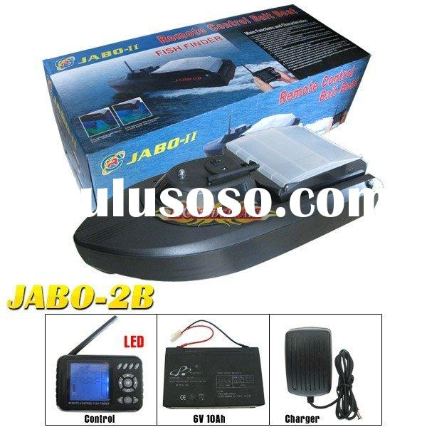 rc boat-JABO-2BS Remote Control Bait Boat (Fish Finder)