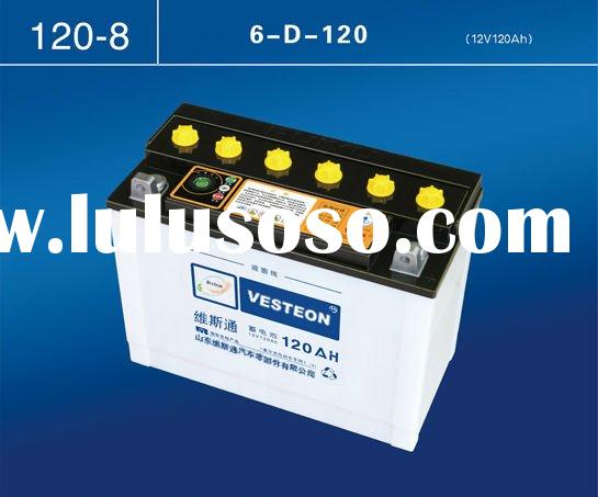 reconditioned car batteries auto starting car battery a88AH