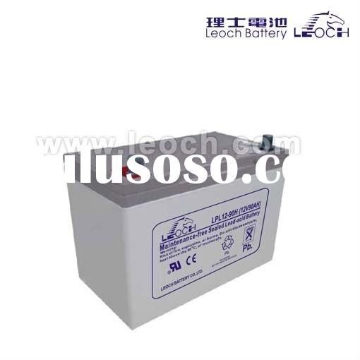sealed rechargeable Lead acid battery 12V 90AH