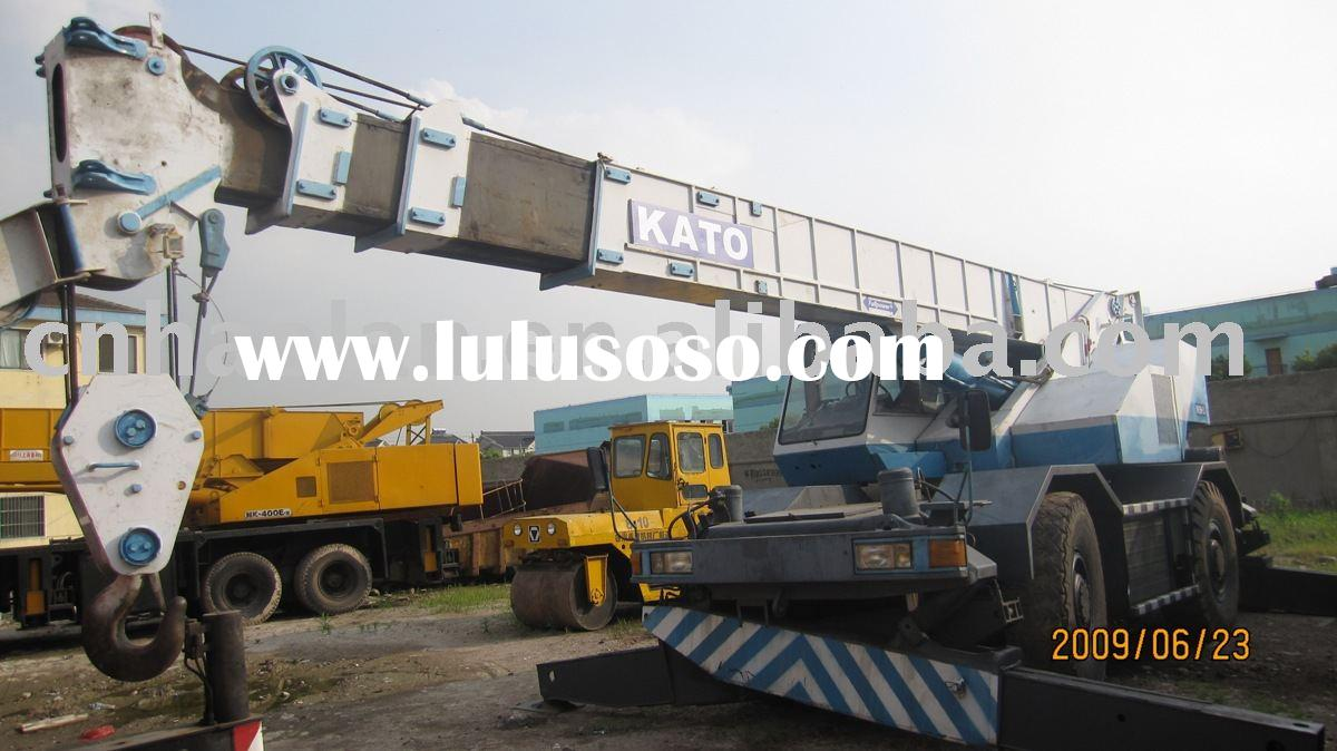 second hand kato 25Ton for sale(rough terrain crane used kato)
