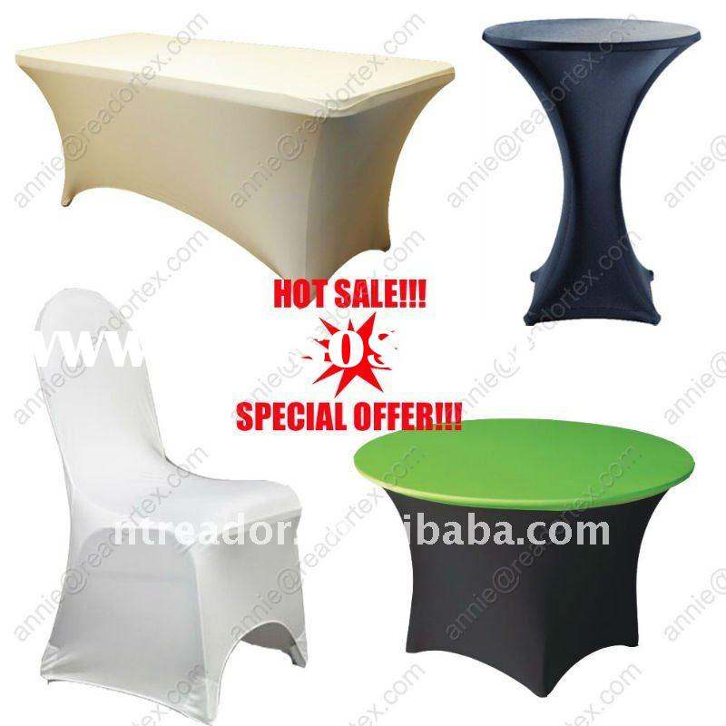 spandex table covers,stretch table covers,spandex chair covers
