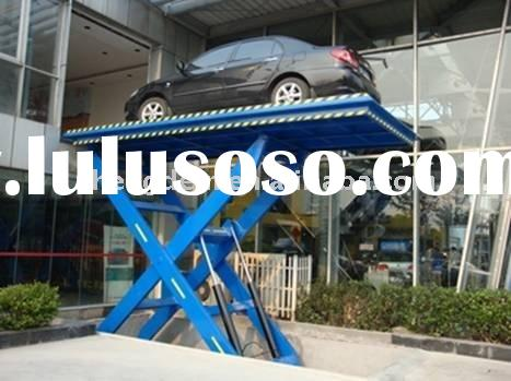 stationary scissor lift table for car