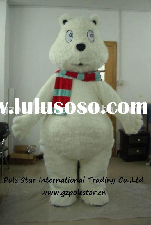 the polar bear mascot costume/sea bear costume