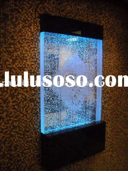 waterbubble panel. indoor waterfall. Acrylic bubble panel. Water bubble panel. indoor waterfall ,fou