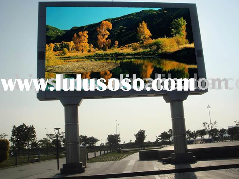 waterproof LED display, LED board, LED ad. board, Giant TV _led screenB