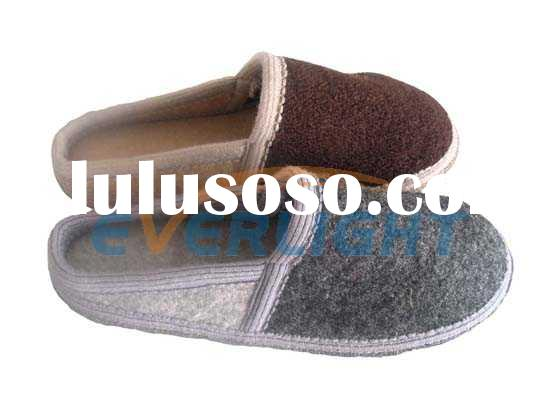 100% boiled wool slipper,felt shoes,wool shoes,felt shoes