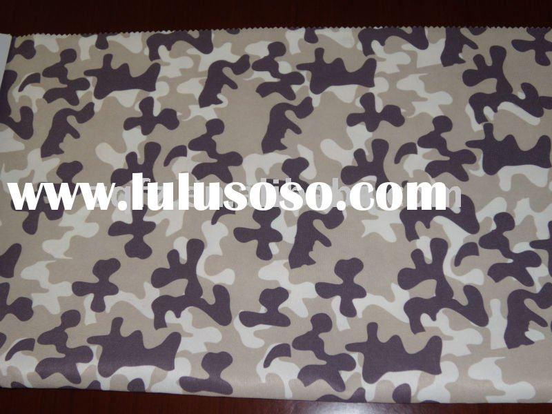 100% polyester oxford military printed coated fabric