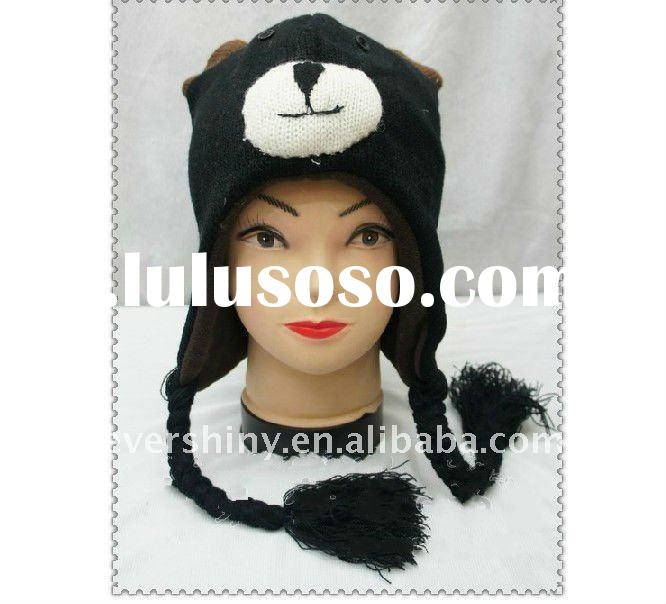 2011 cute knitted animal hat knitting patterns