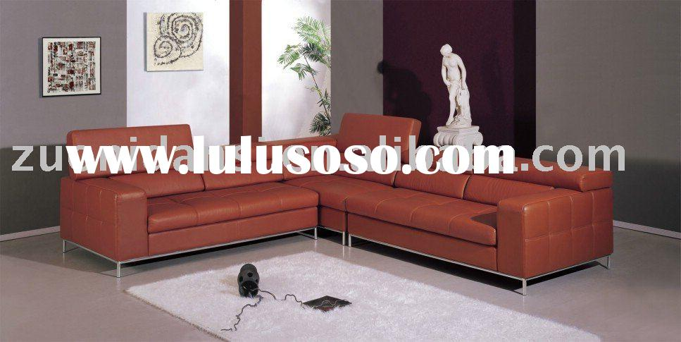 2011 top quality leather sofa set designs 830#