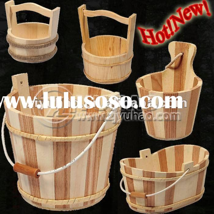 2012 New Designs Gift Packing Bath Wooden Bucket