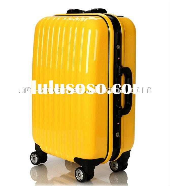 2012 New Wholesale ABS+PC Travel Trolley Vintage Luggage bag