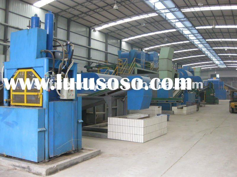 2012 top tech waste plastic &rubber pyrolysis/refinering/recycling equipment