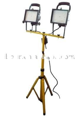 2x12W LED Portable Project Light with Tripod,LED Floodlight with tripod,LED Work light/Lamp with tri
