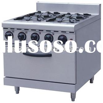 4-Head Gas Stove with Electric Oven ET-JS-TRS-4