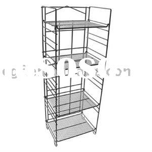 4 Tier Wire Coca-Cola Display Shelf Rack with Sign Holder