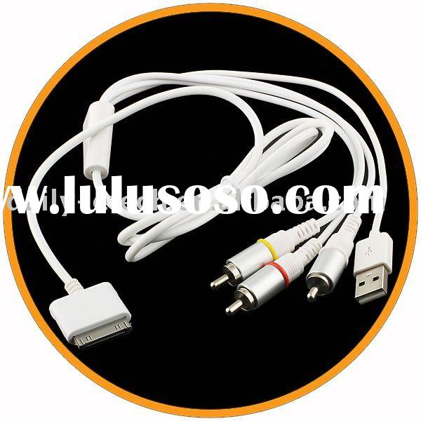 AV cable for iPhone 3GS with USB Connector