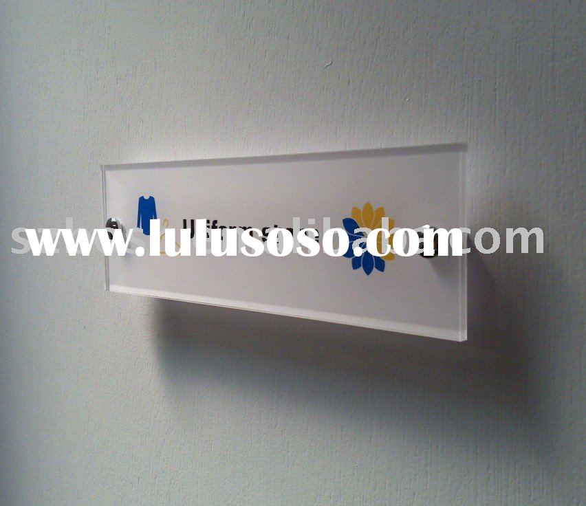 Acrylic Sign,Acrylic Advertising Board,Acrylic Logo Sign/Door/Office/Room/Floor Sign