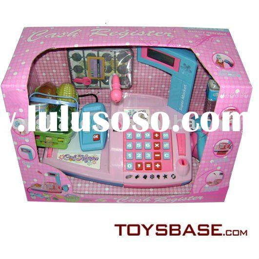 Battery Operated Cash Register Toy -Supermarket