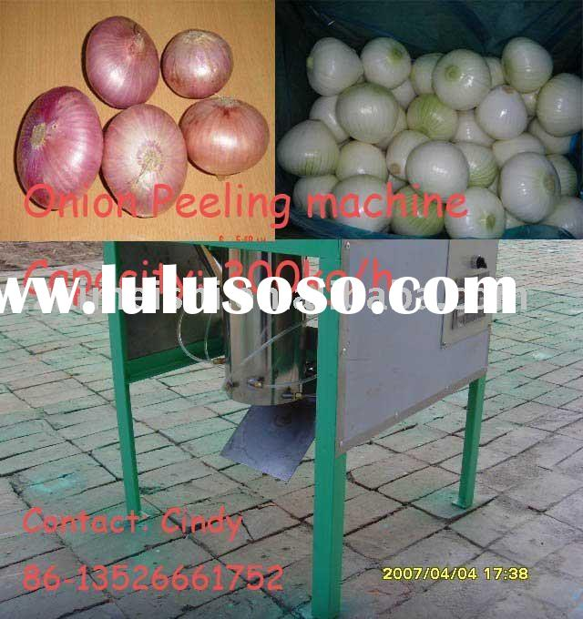 Best and easy use Onion peeling machine,Onion Peeler