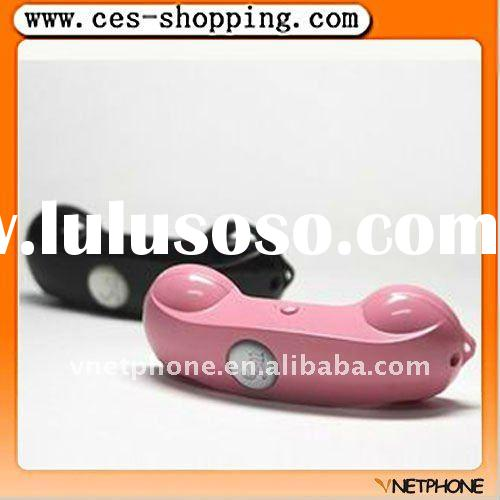 Bluetooth headset for mobile phone.
