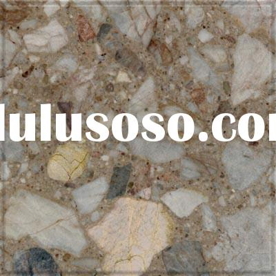 Brown big grain artificial marble - countertop/vanities/floor tile/table top