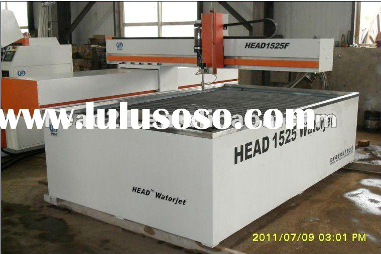 CNC water jet cutting machine for stone/metals/foam/plywood/sponge/rubber/plastic