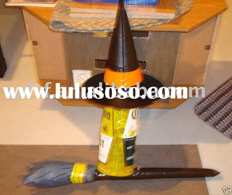 CORONA Beer Halloween Witch Broom Inflatable,inflatable Witch Broom wand,inflatable Halloween Witch