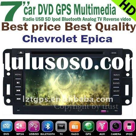 Chevrolet epica car DVD GPS player 7'' HD touchscreen,bluetooth,TV,radio,ipod,steeri