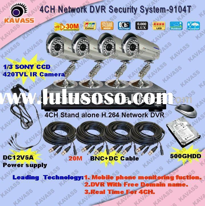 DIY Kit of cctv dvr system,cctv surveillance system