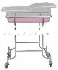 DR-311 Stainless Steel Hospital Baby Bed Crib